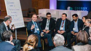 intimate meeting of energy executives in vienna
