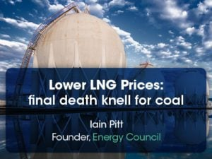 lower lng prices final death knell for coal