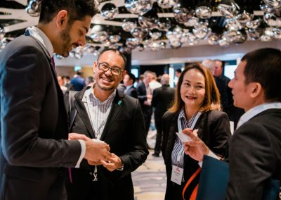 networking at asia conference