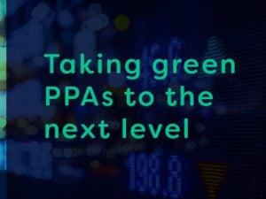 Taking green PPAs to the next level
