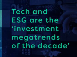 esg and tech megatrends in energy