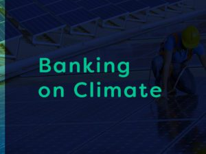 banking on climate article