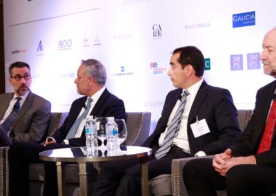 Leonardo Osorio, Juancho Eekhout, Arturo Vivar, Juan Antonio García