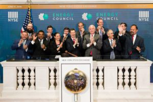energy council at new york stock exchange