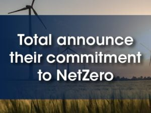 total announces their commitment to net zero